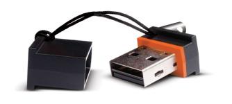 La mini clé USB Lacie MosKeyto
